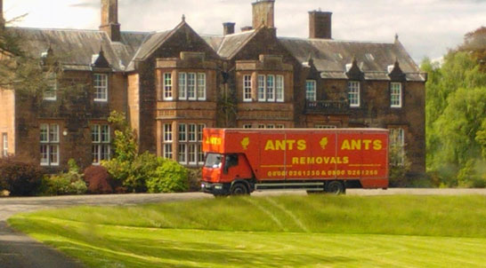 One of the trucks of Ants Removals, a company offering storage units North London facilities. The company provides quick removal quotes North London. All our removals North London services are carried out with the highest professionalism. We consider ourselves to be the most proffessional and cost effective of all removal companies North London packages.