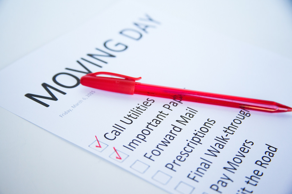 Moving house checklist: things to do when moving house